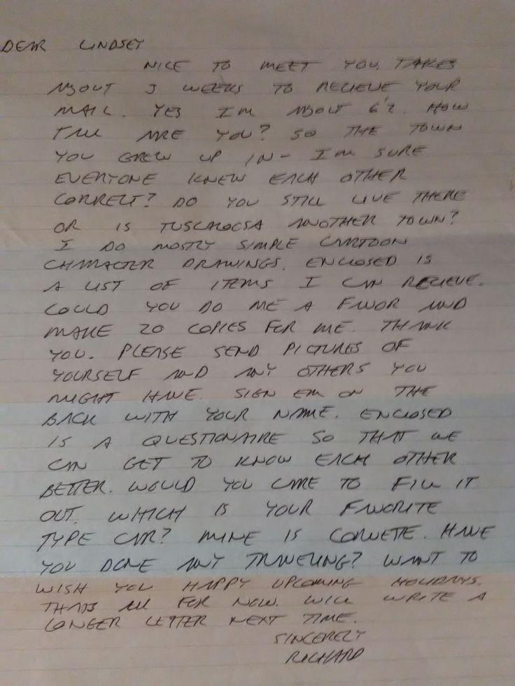 Richard Ramirez Letters - Letter BestKitchenView CO